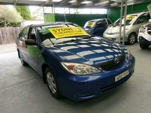 2003 Toyota Camry MCV36R Altise Blue 4 Speed Automatic Sedan Five Dock Canada Bay Area Preview