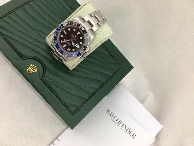 ROLEX GMT 2 BLNR BAT MAN