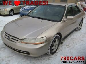 2001 Honda Accord LX Sedan - 4 CYLINDER - TRADES WELCOME