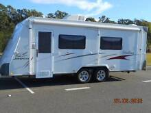 JAYCO STERLING 2008 21 FT 6  1 KING BED 1 SINGLE BED IMMACULATE Tea Gardens Great Lakes Area Preview
