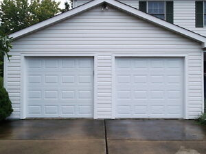 New Garage Doors And Openers For Sale
