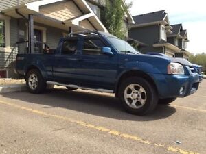 2002 4x4 crew Cab Nissan Frontier Loaded super charger PST paid