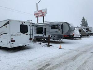 LARGEST  PREOWNED TOY HAULER SELECTION IN CANADA