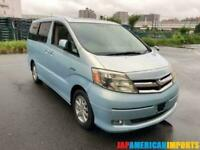 FRESH IMPORT LATE 2007 TOYOTA ALPHARD ESTIMA HYBRID AUTO SUNROOF 8 SEATER