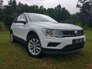 2016 Volkswagen Tiguan 5N MY17 110TSI DSG 2WD Trendline Pure White 6 Speed Bungalow Cairns City Preview