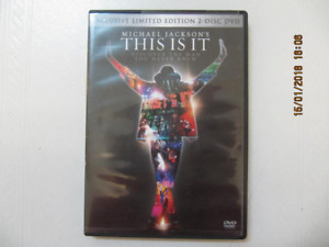 ClassicMichaelJackson's This Is It LimitedEdition 2DiscDVD 2010