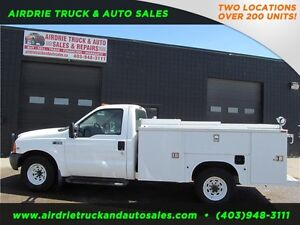 2000 Ford Super Duty F-350 XL Service Body VMAC!!