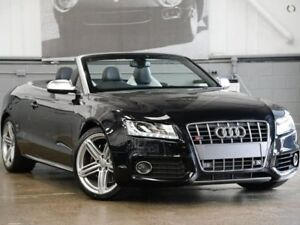 2011 Audi S5 8T MY11 S tronic quattro Phantom Black 7 Speed Sports Automatic Dual Clutch Cabriolet