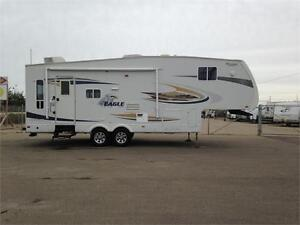 **$120 b/w (oac)** JAYCO EAGLE 5th WHEEL, 2 SLIDES, WINTER PKG!