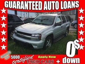 2008 Chevrolet TrailBlazer LT1 $0 Down - All Credit Accepted!