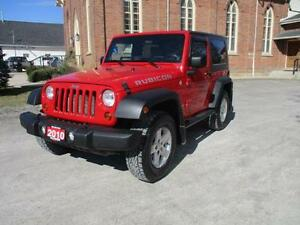 2010 Jeep Wrangler Rubicon /// 4X4 \\\\  $10,937 WOW! FINANCE ME