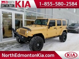 2014 Jeep Wrangler Unlimited Sahara  **CUSTOM LIFT**