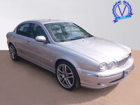 JAGUAR X-TYPE 2.0d SE 4dr (silver) 2003