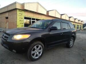 BEST DEAL! 07 SANTA FE!  LIMITED! LEATHER , SUNROOF ! BIG WHEEL
