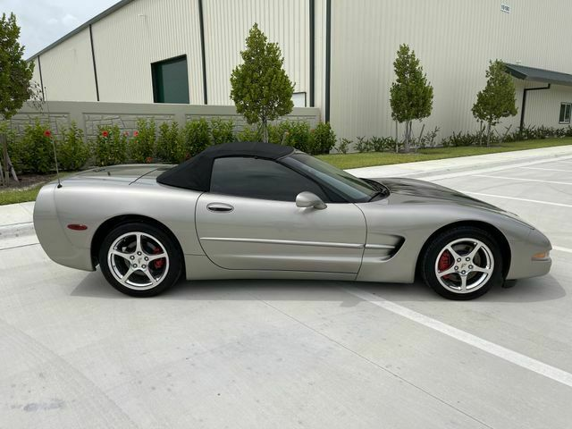 2002 PEWTER MATALIC Chevrolet Corvette Convertible    C5 Corvette Photo 7