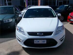 2012 Ford Mondeo MC LX White 6 Speed Automatic Wagon Fyshwick South Canberra Preview