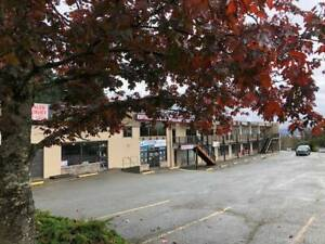 Great visibility in a high profile central Comox location