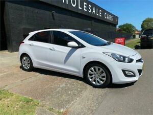 2013 Hyundai i30 GD Active White 6 Speed Manual Hatchback Mayfield West Newcastle Area Preview