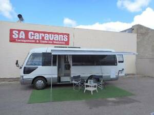 1998 Toyota Coaster Motorhome Hampstead Gardens Port Adelaide Area Preview