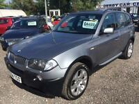 2004 BMW X3 3.0i Sport AUTOMATIC 4 x 4 FULL LEATHER INTERIOR
