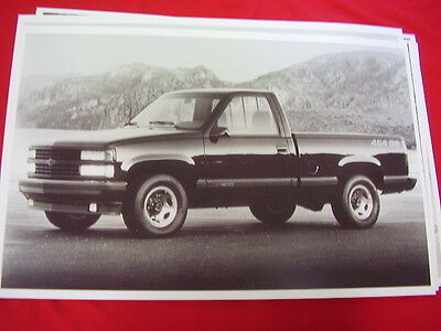 (1991 CHEVROLET 454 SS PICKUP  11 X 17  PHOTO  PICTURE)