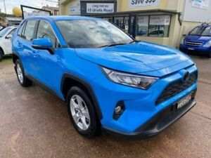 2019 Toyota RAV4 ZSA42R MY18 GX (2WD) Blue Continuous Variable Wagon Port Macquarie Port Macquarie City Preview