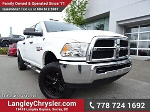 2013 RAM 3500 SLT ACCIDENT FREE w/ 4X4, RMR WHEELS & TOW PACKAGE