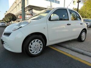 2009 Nissan Micra K12 White 4 Speed Automatic Hatchback Southport Gold Coast City Preview