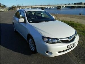 2010 Subaru Impreza G3 MY10 R AWD Pearl White 5 Speed Manual Hatchback Hamilton East Newcastle Area Preview