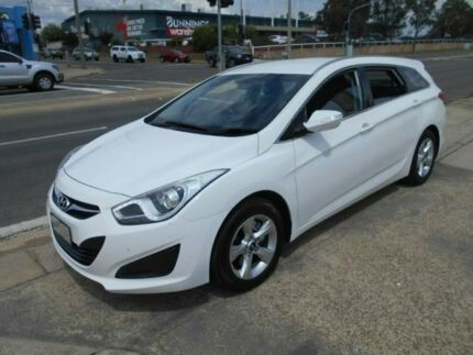 2015 Hyundai i40 VF2 Active Tourer White 6 Speed Sports Automatic Wagon Fyshwick South Canberra Preview