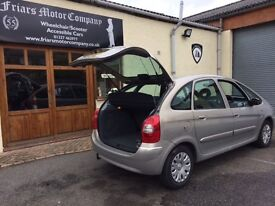 2007 Citroen Picasso Desire.1.6hdi.One local owner,30,700 miles.Air cond. V5 applied for, 2weeks.