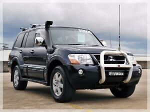 2004 Mitsubishi Pajero NP Exceed Navy Blue Sports Automatic Wagon Brookvale Manly Area Preview