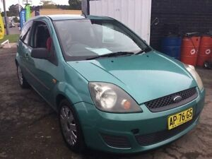 2007 Ford Fiesta WQ LX 5 Speed Manual Hatchback Boolaroo Lake Macquarie Area Preview