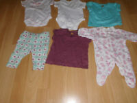 Various ages and gender baby clothes