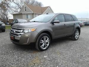 2013 Ford Edge Limited wt NAV,Back-UP-Camera,Lather,Heated Seat