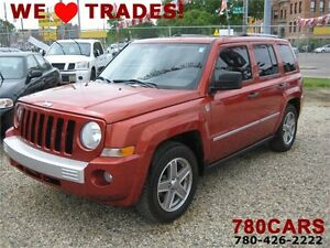 2008 Jeep Patriot Limited - 4x4 - HEATED LEATHER-SUNROOF-TRADES