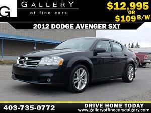 2012 Dodge Avenger SXT $109 BI-WEEKLY APPLY NOW DRIVE N