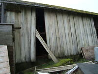 Old Barn Boards and Lumber