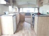 Static caravan for sale on Sandy Bay, Northumberland