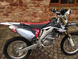 Honda crf 250 x 2014 black edition