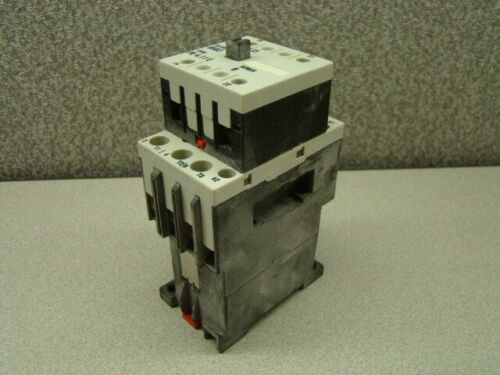 Square D PE4.11E Auxiliary Contact w/ PE4.00E Contactor, Class 8502