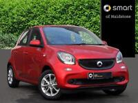 smart forfour PASSION T (red) 2017-01-18