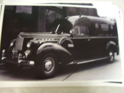 1940 PACKARD POLICE CAR ALBANY COUNTY JAIL  PHOTO  PICTURE
