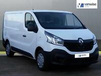 2014 Renault Trafic SL29 BUSINESS DCI S/R P/V Diesel white Manual