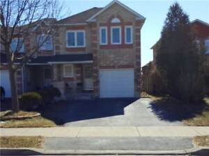 Immaculate End Unit Freehold Townhome!