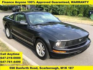 2008 Ford Mustang FINANCE 100% Guaranteed WARRANTY