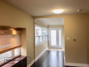 ...Main Floor of Detached House - 2 Bed + Den + 3 Bath + Parking