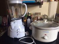 Slow Cooker and Food Processor - Hardly used!