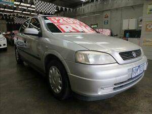 2001 Holden Astra TS City Silver 5 Speed Manual Hatchback Mordialloc Kingston Area Preview