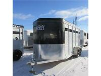 All new 2015 Maverick 3 Horse HS Slant load Bumper Pull Trailer